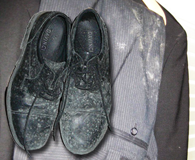 how to clean mold off fabric shoes